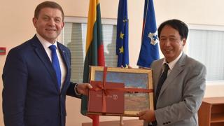 Šalčininkai visited by Japanese Ambassador