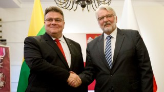 Foreign ministers of Lithuania and Poland discussed the issues of geopolitical situation and national minorities