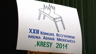 """The 23rd edition of the Recitation Contest """"Kresy"""" in Šalčininkai"""