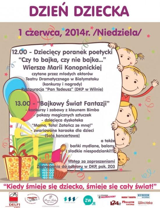 Międzynarodowy Dzień Dziecka Wilnoteka